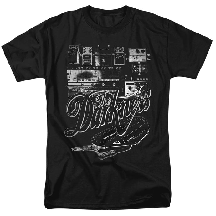 The Darkness Pedal Board Mens T Shirt Black