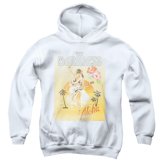 The Darkness Aloha Kids Youth Hoodie White