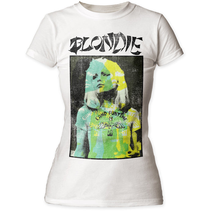 Blondie Bonzai Womens T Shirt White