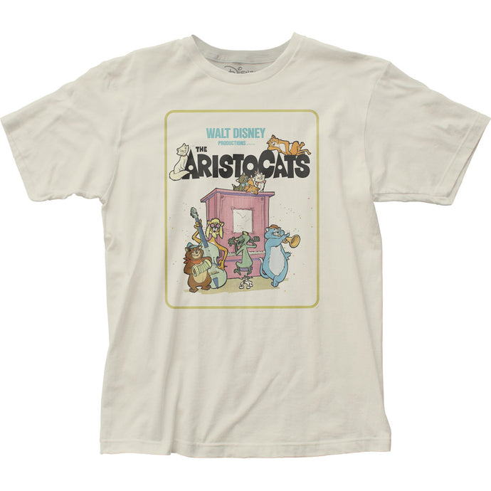 The Aristocats The Aristocats Mens T Shirt Vintage White