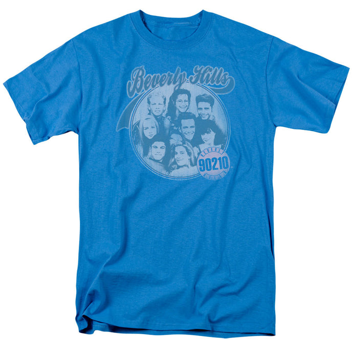 90210 Circle of Friends Mens T Shirt Turquoise
