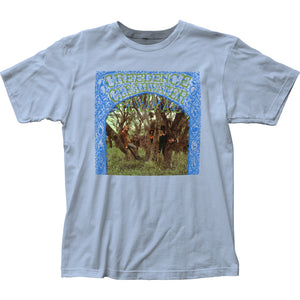 Creedence Clearwater Revival Debut Album Mens T Shirt Light Blue