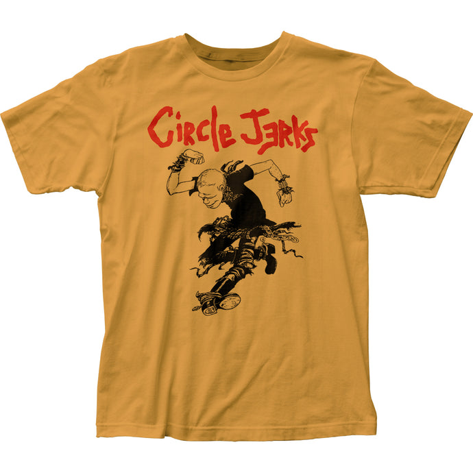 Circle Jerks Skank Man Mens T Shirt Yellow