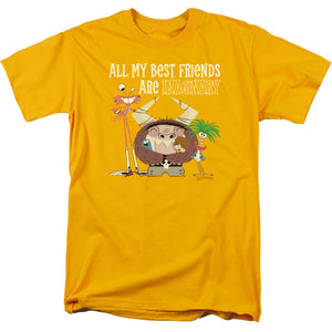 Fosters Home For Imaginary Friends Imaginary Friends Mens T Shirt Gold