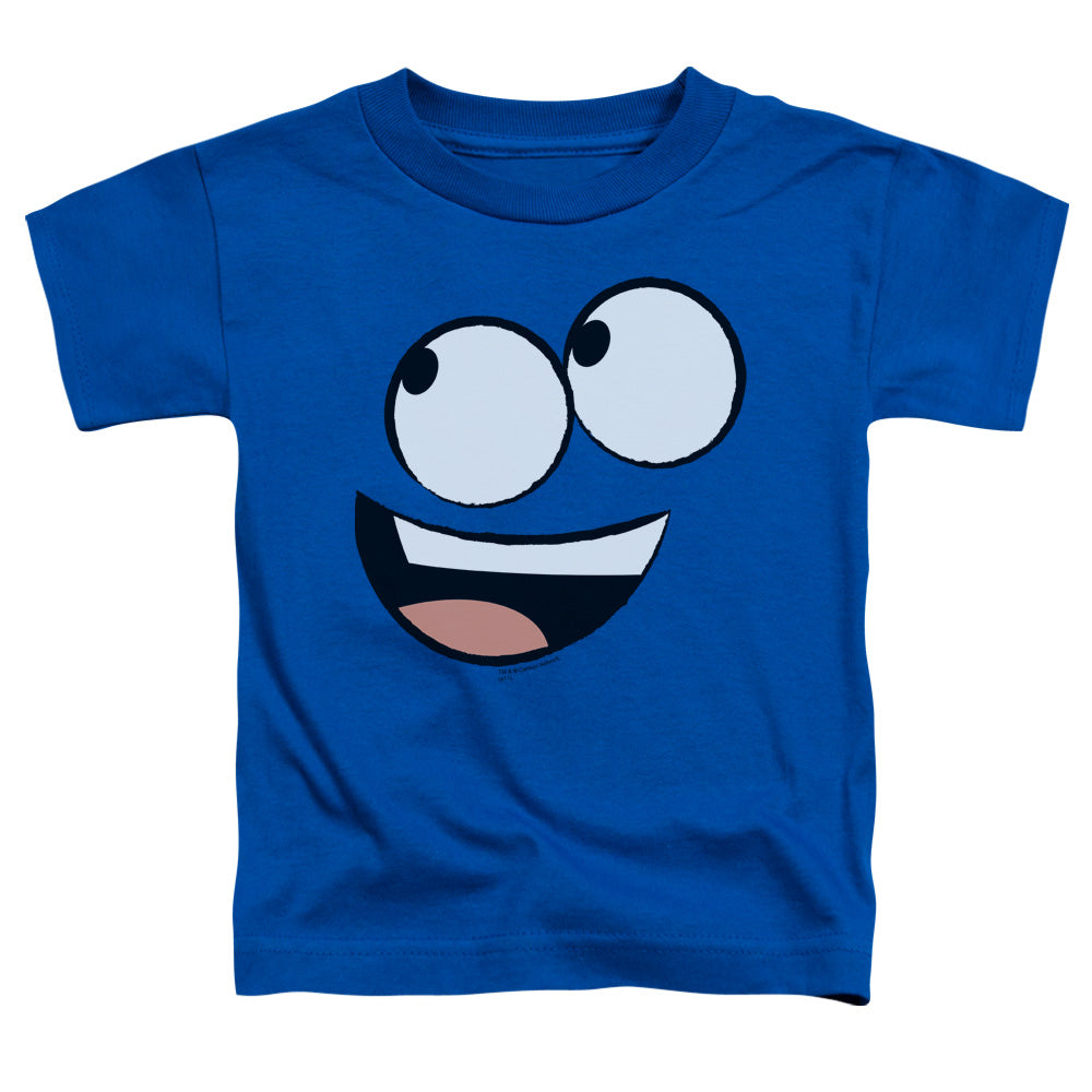 Fosters Home For Imaginary Friends Blue Face Toddler Kids Youth T Shirt Royal Blue
