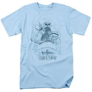 Grim Adventures of Billy & Mandy Sketched Mens T Shirt Light Blue