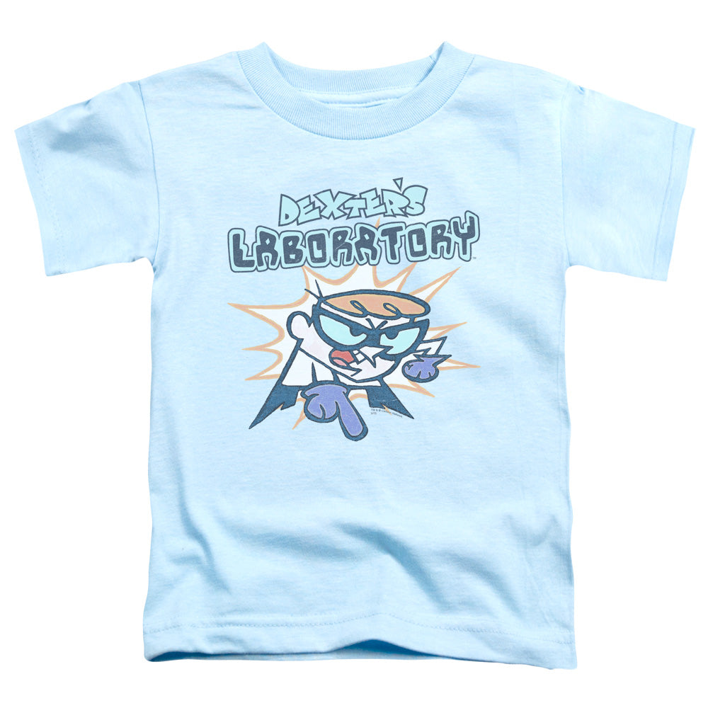 Dexters Laboratory What Do You Want Toddler Kids Youth T Shirt Light Blue