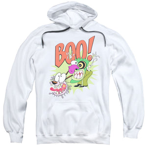 Courage the Cowardly Dog Stupid Dog Mens Hoodie White