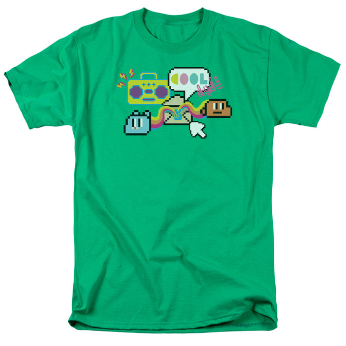 Amazing World of Gumball Cool Oh Yeah Mens T Shirt Kelly Green