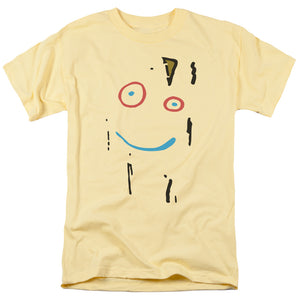 Ed Edd N Eddy Plank Face Mens T Shirt Yellow