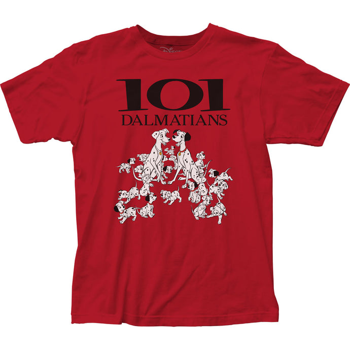 101 Dalmatians 101 Dalmatians Mens T Shirt Red