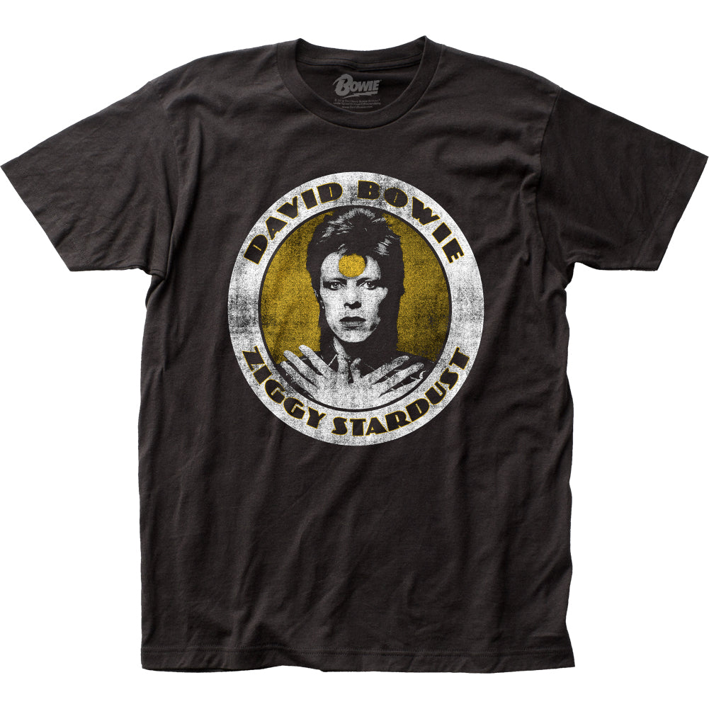 David Bowie Ziggy Stardust Mens T Shirt Black