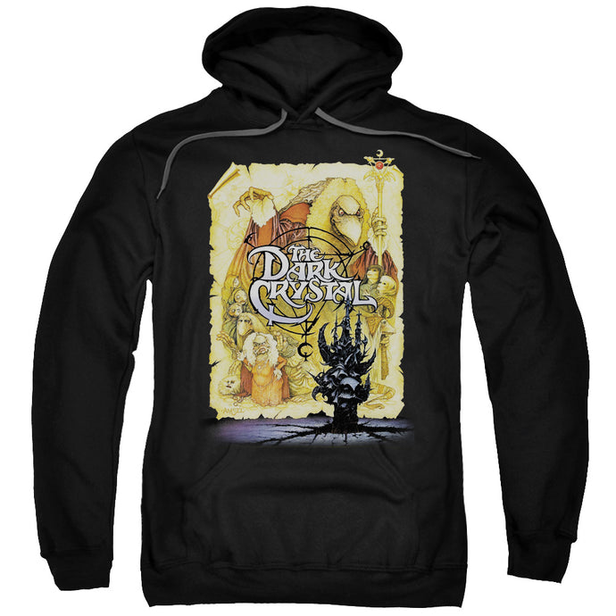 The Dark Crystal Poster Mens Hoodie Black