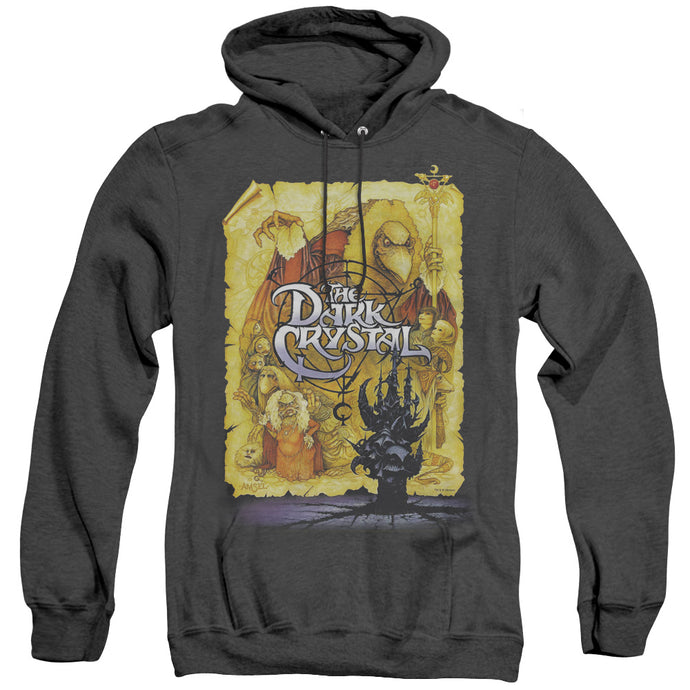 The Dark Crystal Poster Heather Mens Hoodie Black