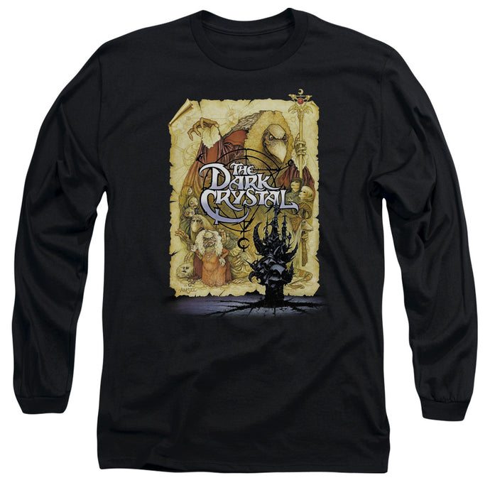 The Dark Crystal Poster Mens Long Sleeve Shirt Black