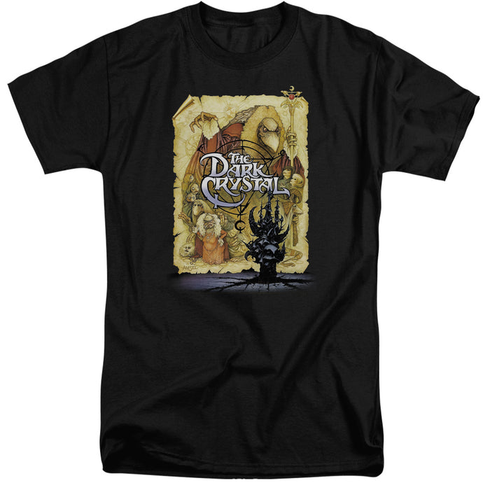 The Dark Crystal Poster Mens Tall T Shirt Black