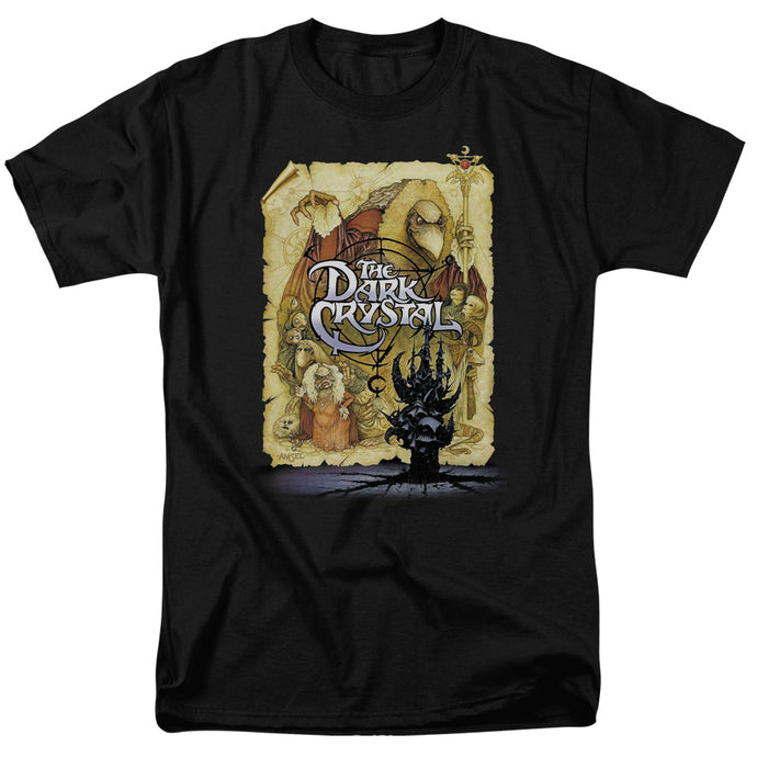The Dark Crystal Poster Mens T Shirt Black