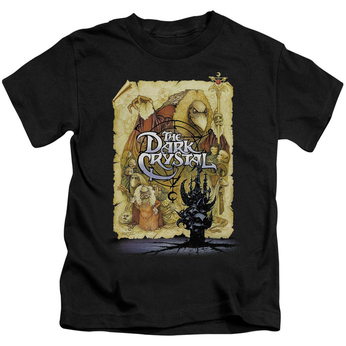 The Dark Crystal Poster Juvenile Kids Youth T Shirt Black