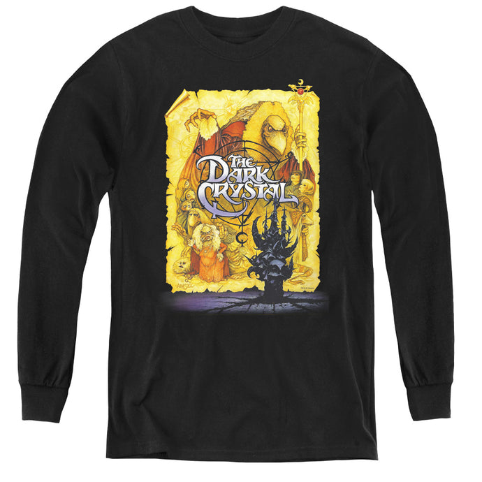 The Dark Crystal Poster Long Sleeve Kids Youth T Shirt Black