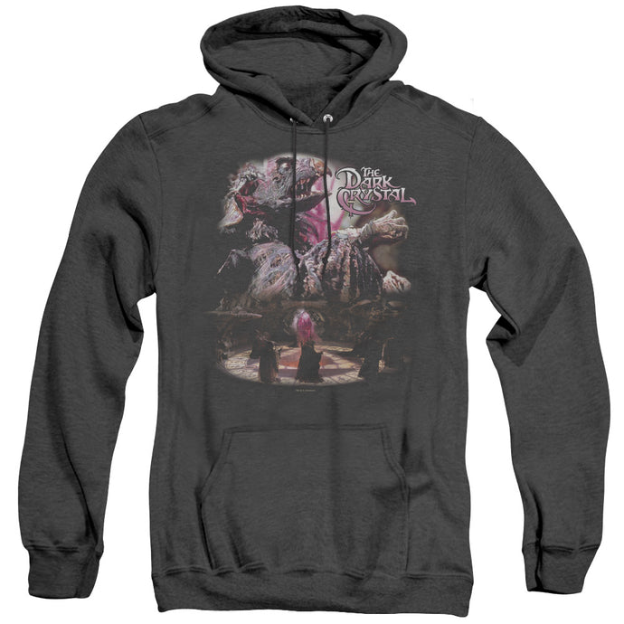 The Dark Crystal Power Mad Heather Mens Hoodie Black