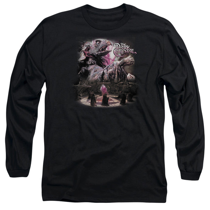 The Dark Crystal Power Mad Mens Long Sleeve Shirt Black