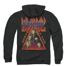 Load image into Gallery viewer, Def Leppard Hysteria Tour Back Print Mens Work Shirt Black