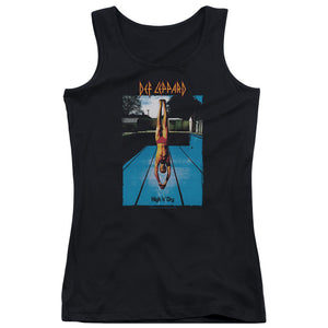 Def Leppard High N Dry Womens Tank Top Shirt Black