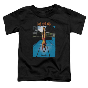 Def Leppard High N Dry Toddler Kids Youth T Shirt Black
