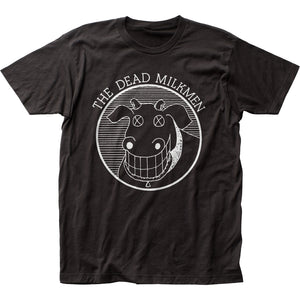 The Dead Milkmen Cow Logo Mens T Shirt Black