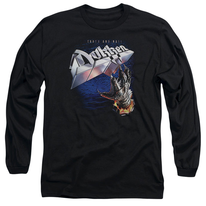 Dokken Tooth and Nail Mens Long Sleeve Shirt Black