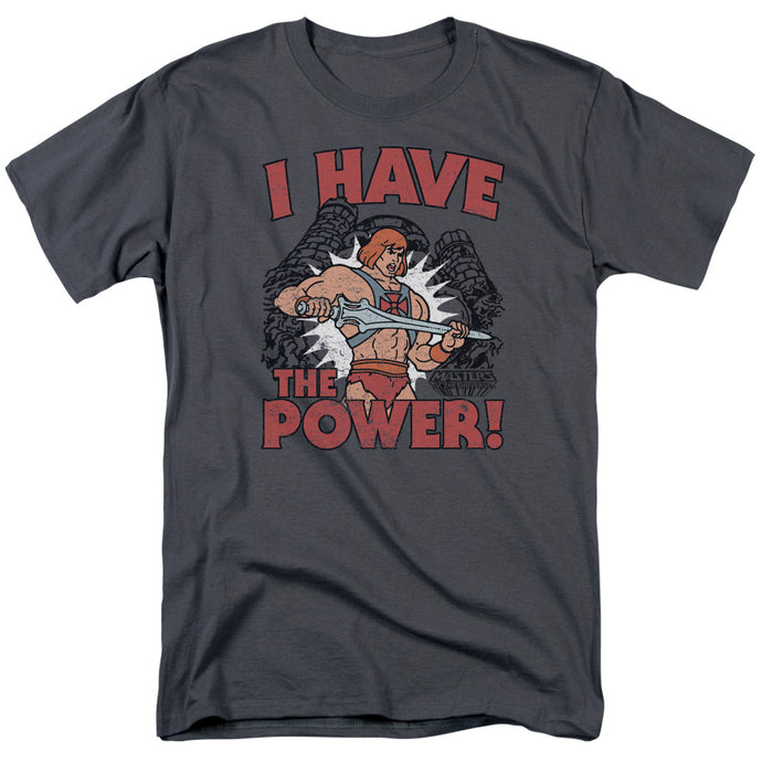 Masters of the Universe I Have the Power Mens T Shirt Charcoal