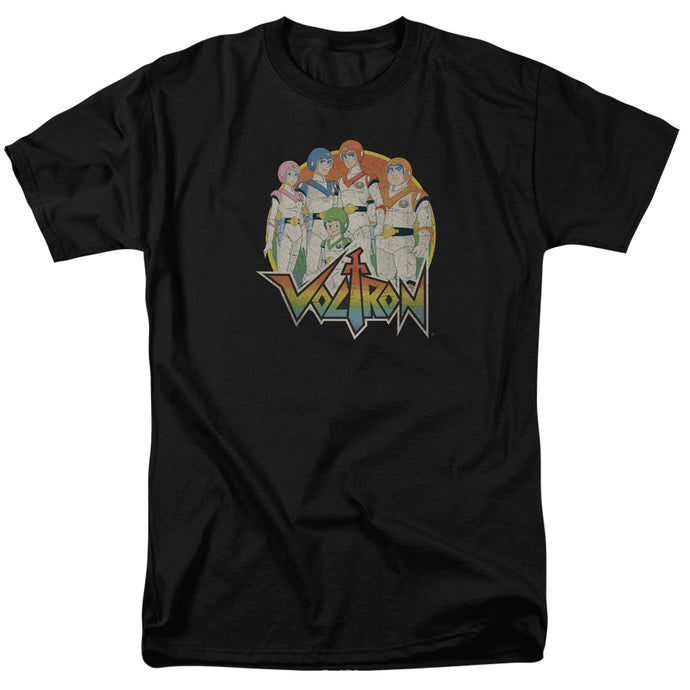Voltron Group Mens T Shirt Black