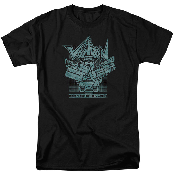 Voltron Legendary Defender Rough Mens T Shirt Black