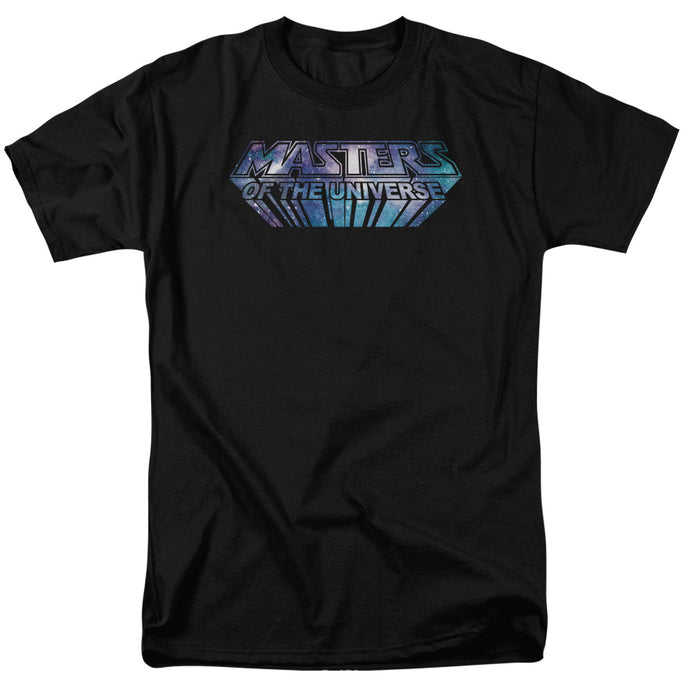 Masters of the Universe Space Logo Mens T Shirt Black