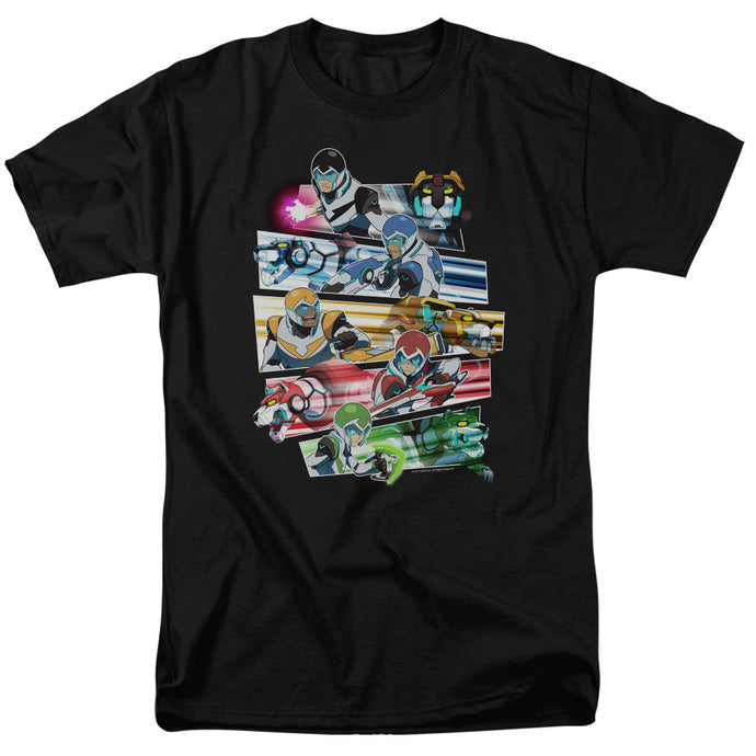 Voltron Paladins Strike Mens T Shirt Black