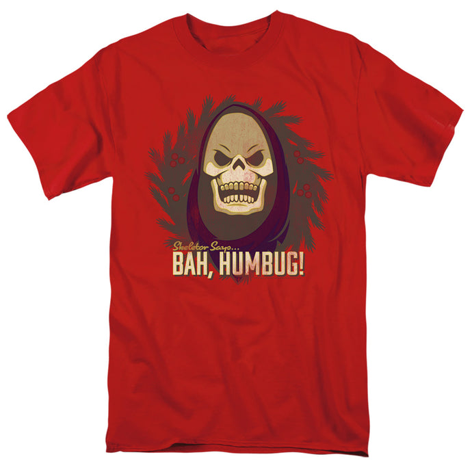 Masters of the Universe Bah Humbug Mens T Shirt Red