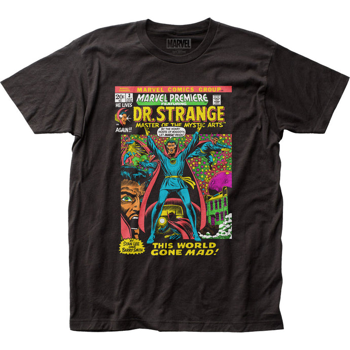 Dr. Strange Let Magic Reign Mens T Shirt Black