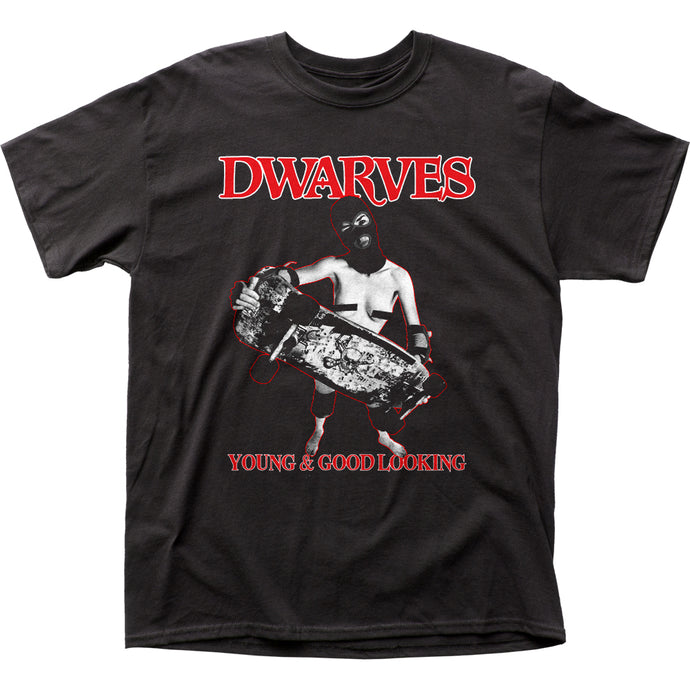 Dwarves Young & Good Looking Mens T Shirt Black