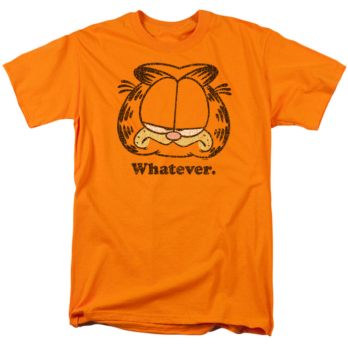 Garfield Whatever Mens T Shirt Orange