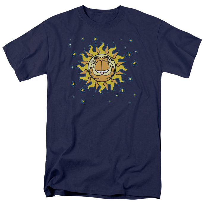 Garfield Celestial Mens T Shirt Navy Blue