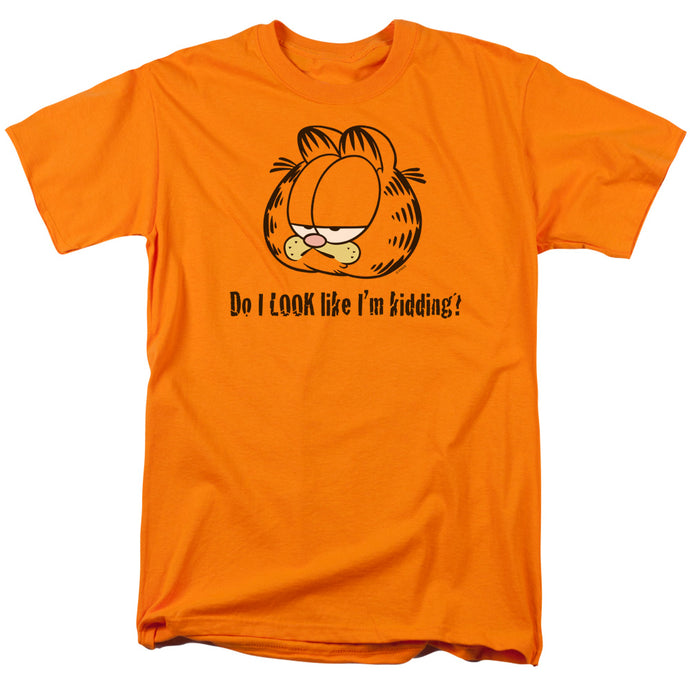 Garfield Do I Look Like Im Kidding Mens T Shirt Orange