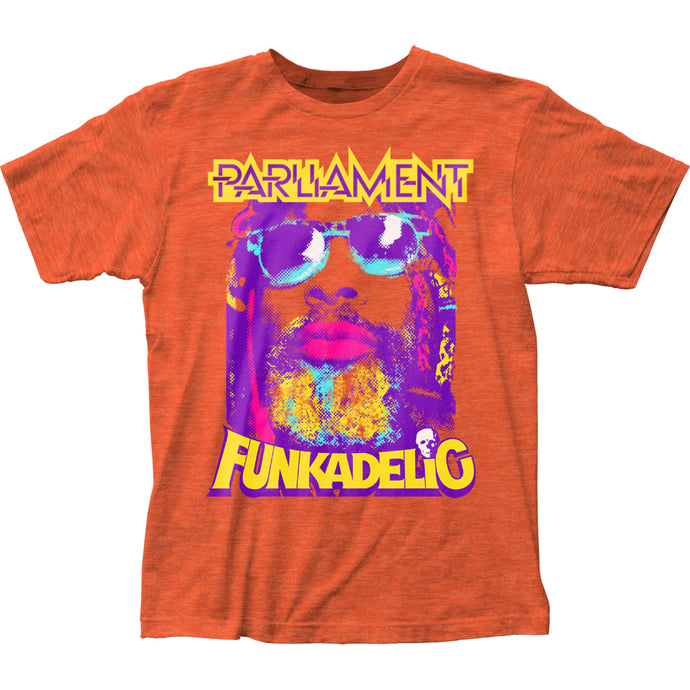 George Clinton P-Funk Mens T Shirt Orange