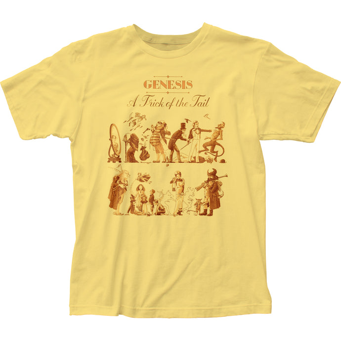 Genesis A Trick of the Tail Mens T Shirt Yellow