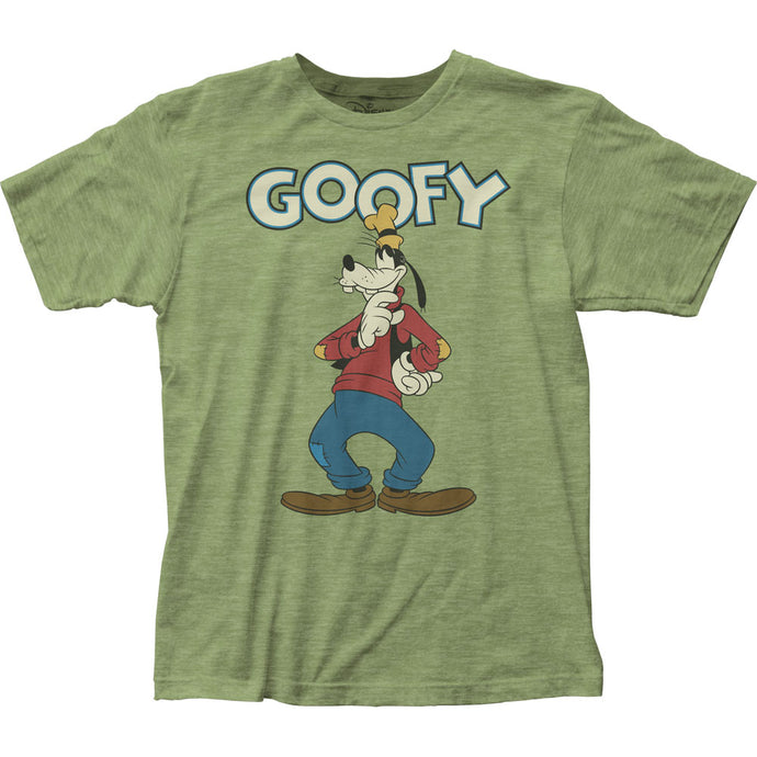 Goofy Thinking Mens T Shirt Green