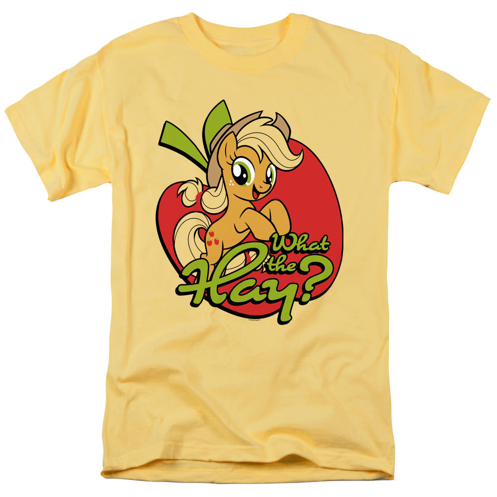 My Little Pony Tv What the Hay Mens T Shirt Yellow