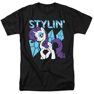 My Little Pony Tv Stylin Mens T Shirt Black