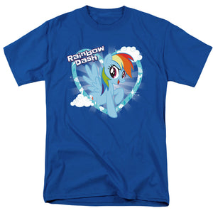 My Little Pony Tv Rainbow Dash Mens T Shirt Royal Blue
