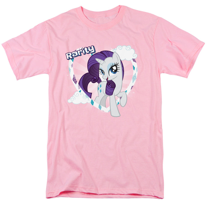 My Little Pony Tv Rarity Mens T Shirt Pink