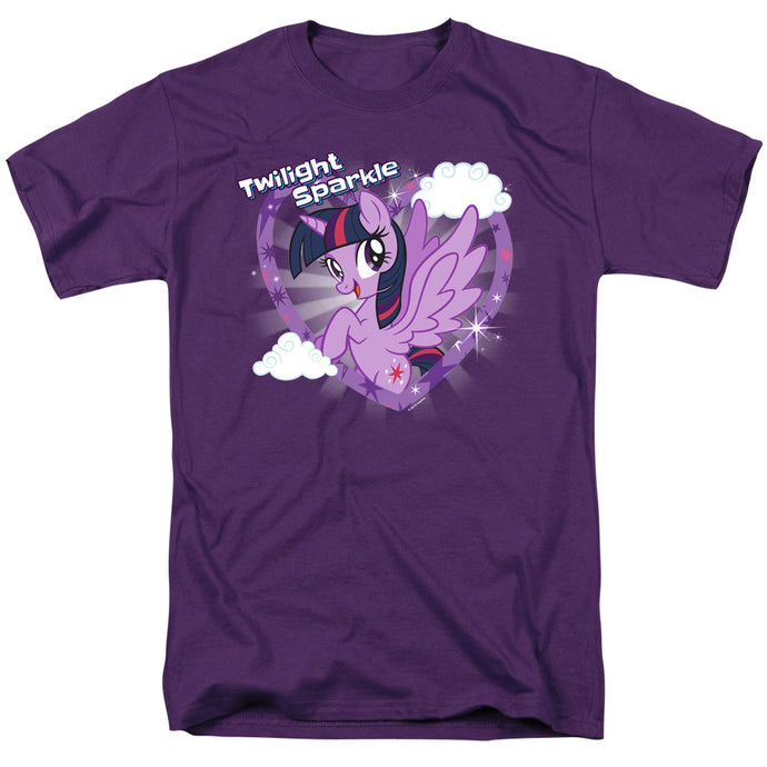 My Little Pony Tv Twilight Sparkle Mens T Shirt Purple