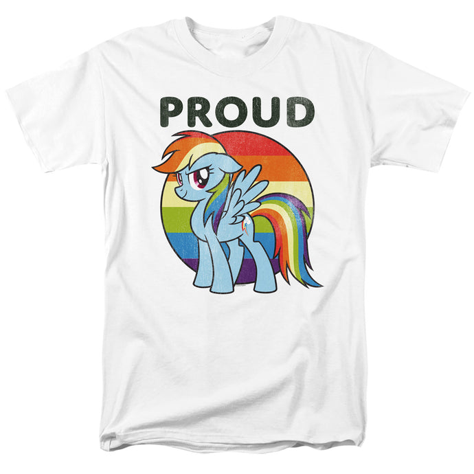 My Little Pony Tv Proud Mens T Shirt White